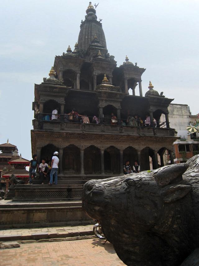 Krishna Mandir, en la plaza Durbar de Patan