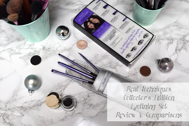 Real Techniques eyelining set review