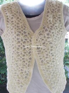 free crochet bolero pattern, free crochet continuous motif pattern, free crochet flower motif pattern