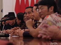 BCL hingga Glenn Bertemu Presiden Jokowi di Istana, Bahas Industri Musik