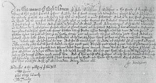 John Bradshaw's Will 1666
