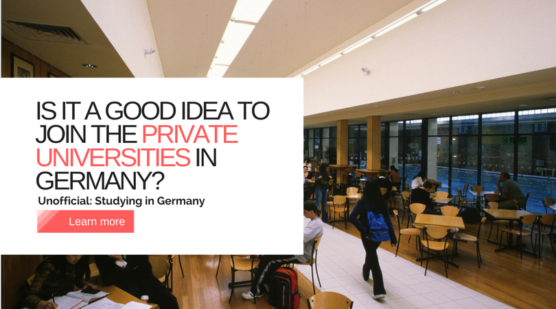 Is It A Good Idea To Join The Private Universities In Germany