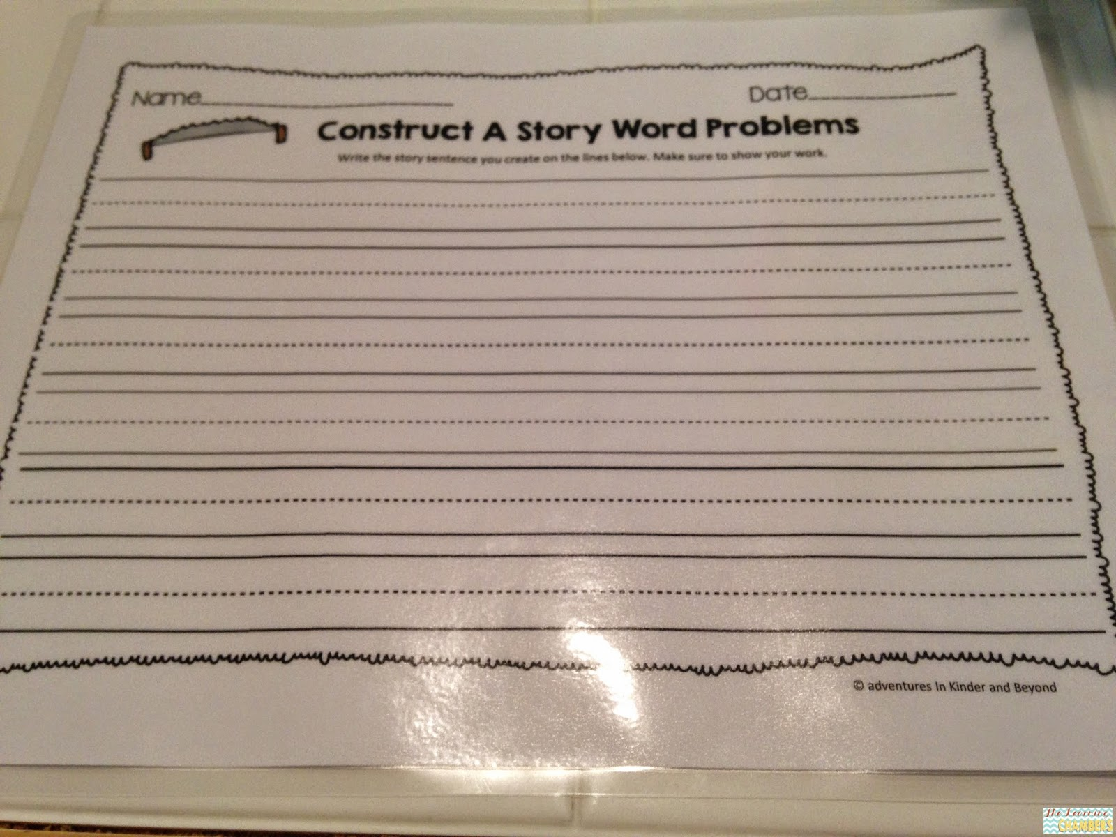 http://www.teacherspayteachers.com/Product/Differentiated-Addition-and-Subtraction-Word-Problems-Construct-A-Story-1211622