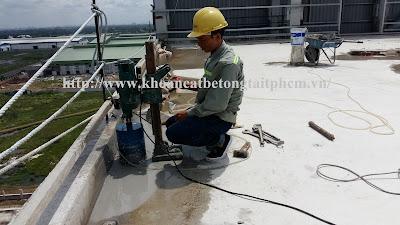 Khoan cắt bê tông tại thị xã Phước Long
