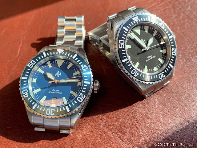 NTH Subs Odin blue and black