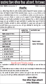 UP Urdu Teacher counseling for Firozabad