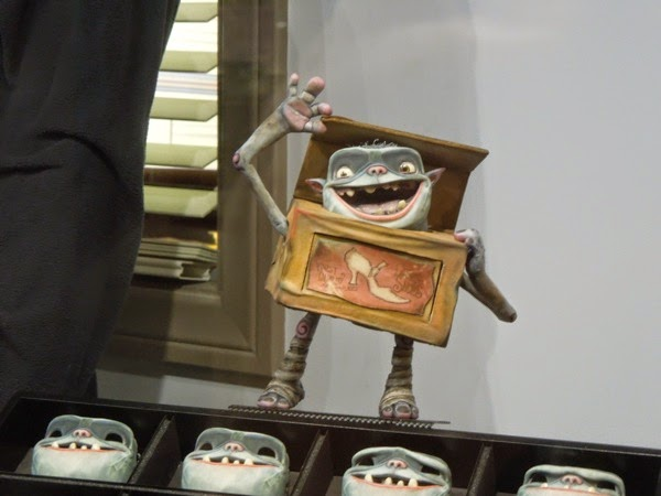 The Boxtrolls stop-motion character figure