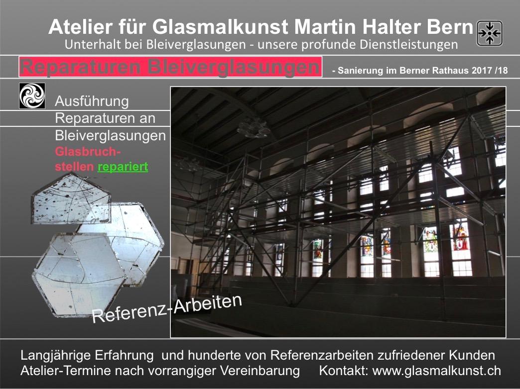 GLASMALEREI hat einen Namen in Bern Glaskunst und vieles ...