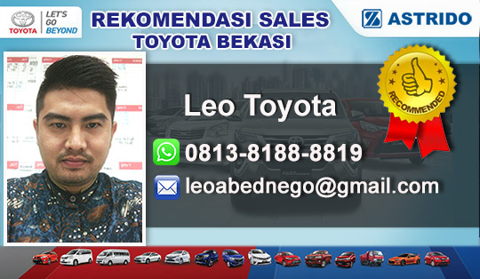 Rekomendasi Sales Astrido Toyota Pondok Gede Bekasi