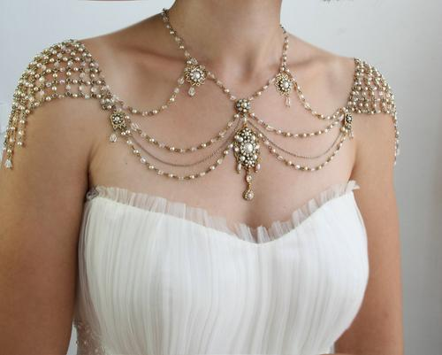 Vintage Style Bridal Jewelry by My Little Bride The Beading Gems