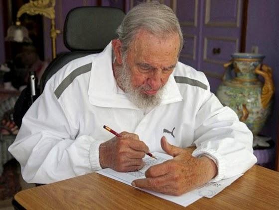 Fidel Castro depositou seu voto para as eleições municipais