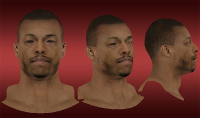 NBA 2K13 Paul Pierce Cyberface Mod