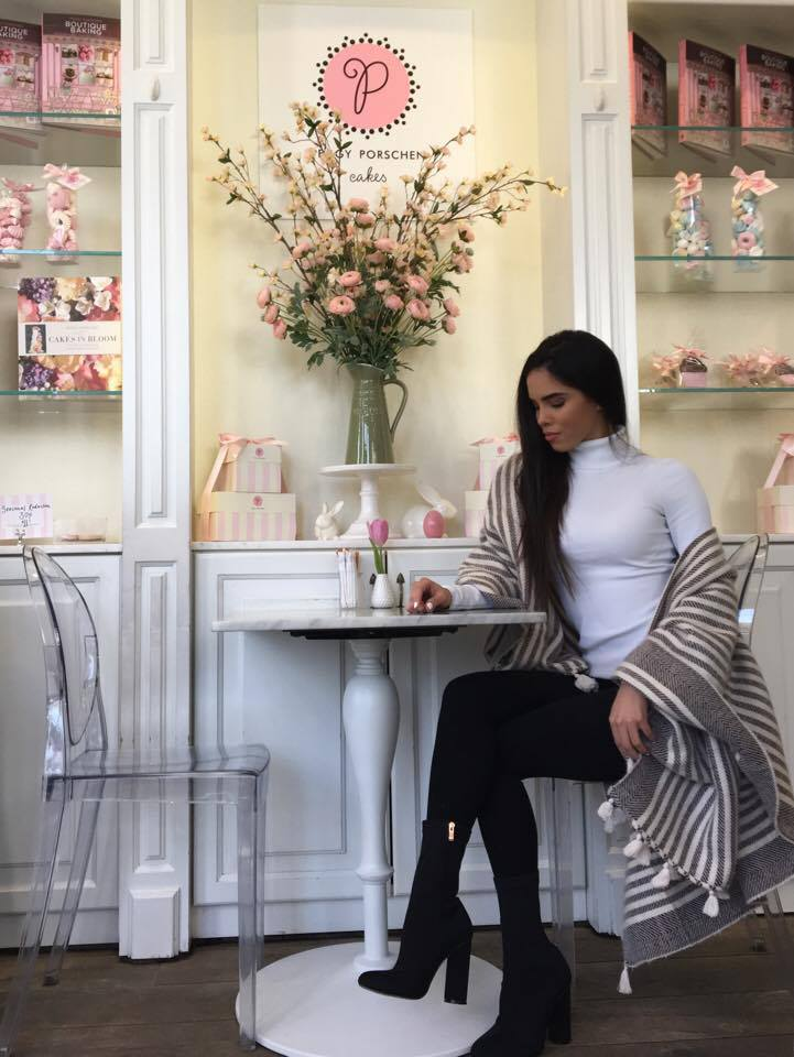 An Art-Inspired Morning At Peggy Porschen - London