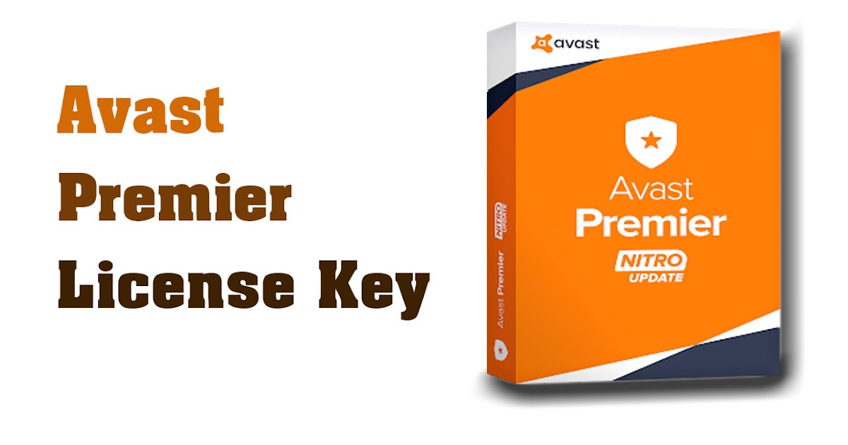 Avast Premier License Key Full Version | Key yeK - Serial ...