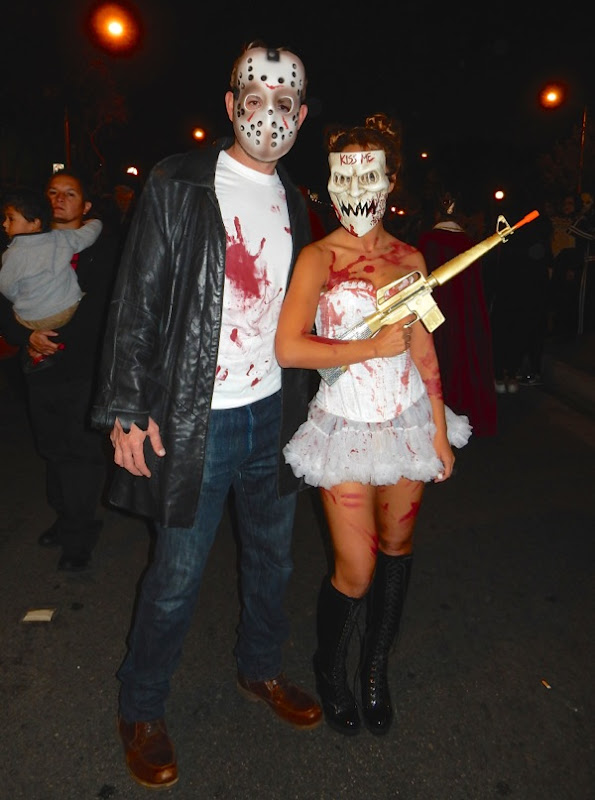 West Hollywood Halloween Purge Election Year costume