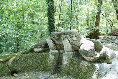 Luoghi curiosi da visitare nel Lazio: il Parco dei Mostri di Bomarzo