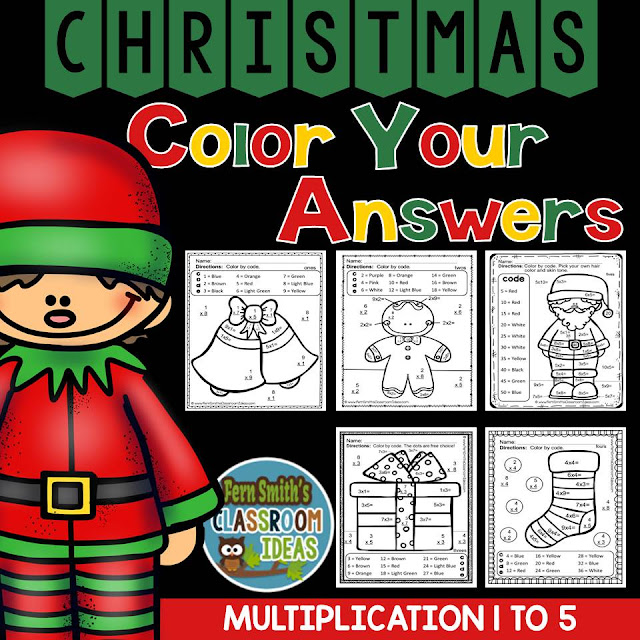 https://www.teacherspayteachers.com/Product/Christmas-Math-2173784