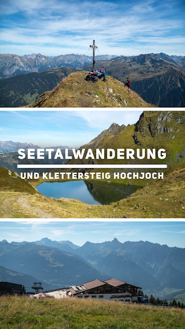 Seetalwanderung und Klettersteig Hochjoch | Silvretta Montafon | Der längste Klettersteig in Vorarlberg