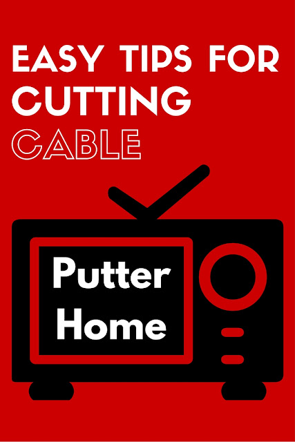 Easy Tips for Cutting Cable Without Losing TV using an Mohu Leaf HDTV antenna, Roku, Netflix, Amazon Prime Video, VidAngel, and Beachbody On Demand | Putter Home