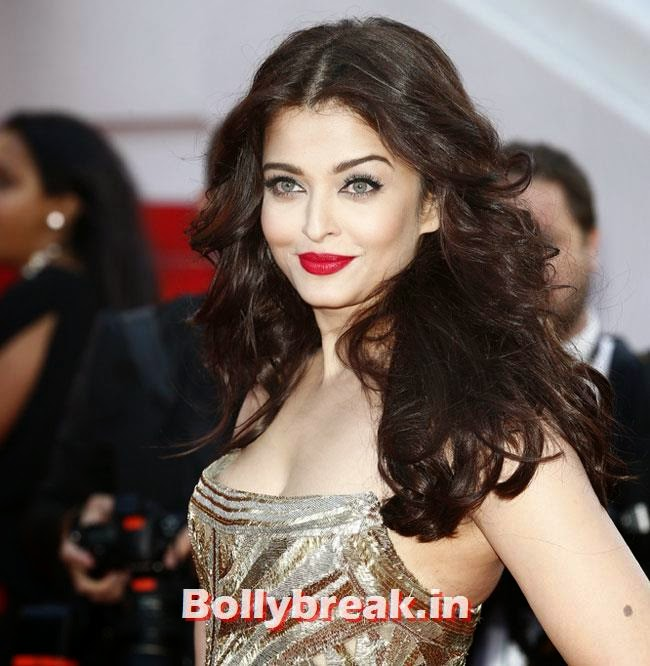 Aishwarya Rai, Bollywood Actresses Gowns at Cannes Film Festival 2014