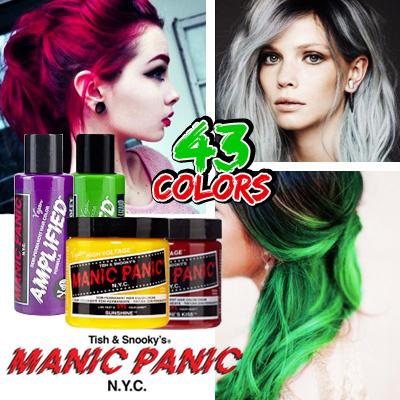 Manic Panic Semi-Permanent Hair Dye | Beauty Review ...