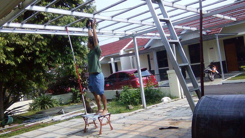 Pasang Canopy Baja Ringan Depok Kanopi Di Bogor