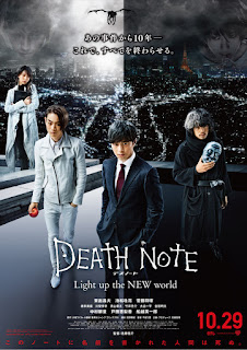Sinopsis Death Note: Light Up The New World {Film Jepang}