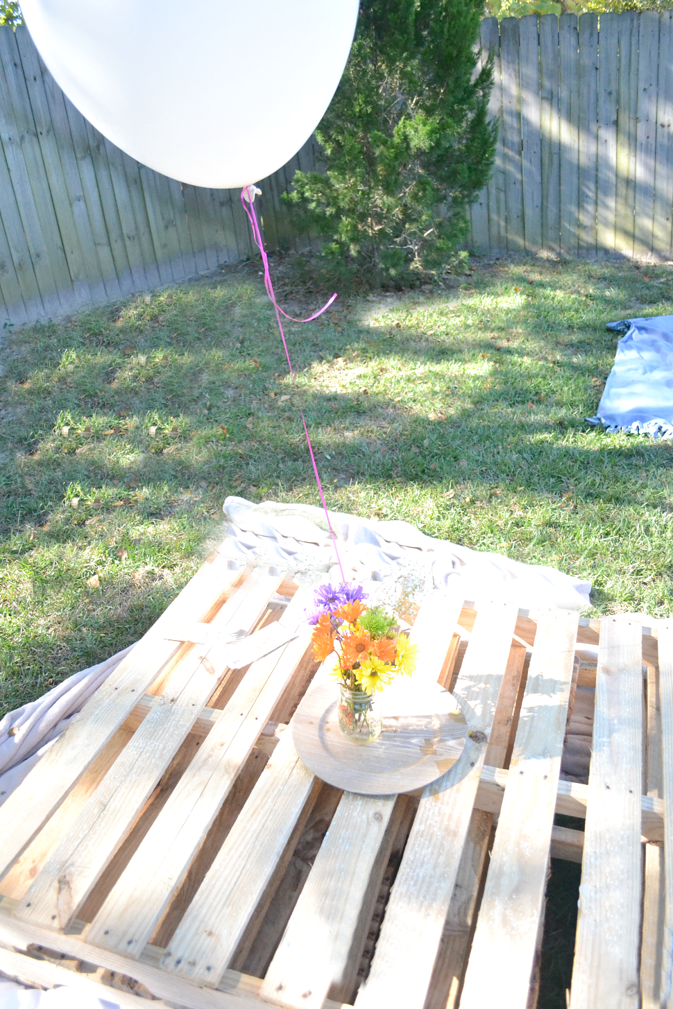 fawn over baby a peppa pig themed backyard birthday picnic