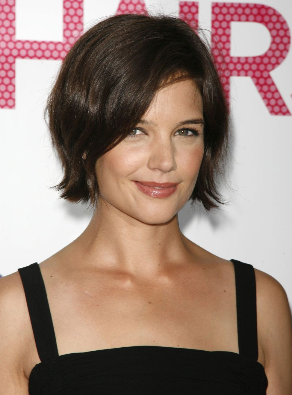 celebrity hairstyle haircut ideas: katie holmes haircut hairstyles