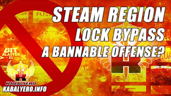 Steam Region Lock Bypass ★ A Bannable Offense?