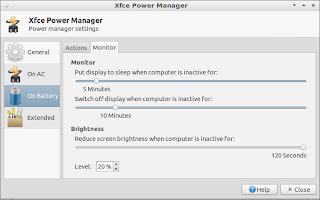 Lubuntu Basics: Power management and display settings