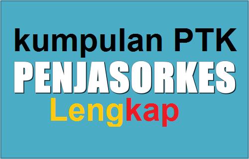 Kumpulan PTK Pendidikan Jasmani Olah raga dan Kesehatan (PJOK)