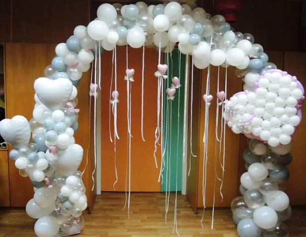 μπαλονια αψιδα