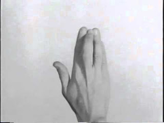 Yvonne Rainer's video Hand Movie (1966)