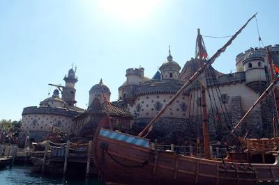 Arabian Port at Tokyo Disneysea Japan