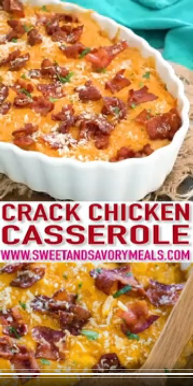 Cheesy Crack Chicken Casserole #Foodrecipes#Dinnerideas#Easydinnerrecipes#Breakfastideas#Healthyrecipes#DessertrecipesHealthysnacks#Healthylunchideas#Mealprepfortheweek#Healthyeating#Healthymeal prep#Healthydesserts#Chickenrecipes#Dinnerideas#Easydinnerrecipes#Healthysnacks#Dessertrecipes#Cookingrecipes#Healthyfood#Pastasalad#Icecream#Bbqideas#Watermelon#Chinesefoodrecipes#Friedrice#Beefrecipes#Orangechicken#Sweetandsourchicken#Porkrecipes#Veganrecipes#Vegetarianmeals#Vegandinner#Meatlessmeals#Veggierecipes#Vegetarianrecipesdinner #CheesyCrackChickenCasserole