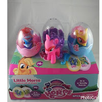 MLP Fake Power Ponies Brushables