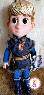 """Кукла мальчик """"аниматор"""" из мультика Холодное сердце"""