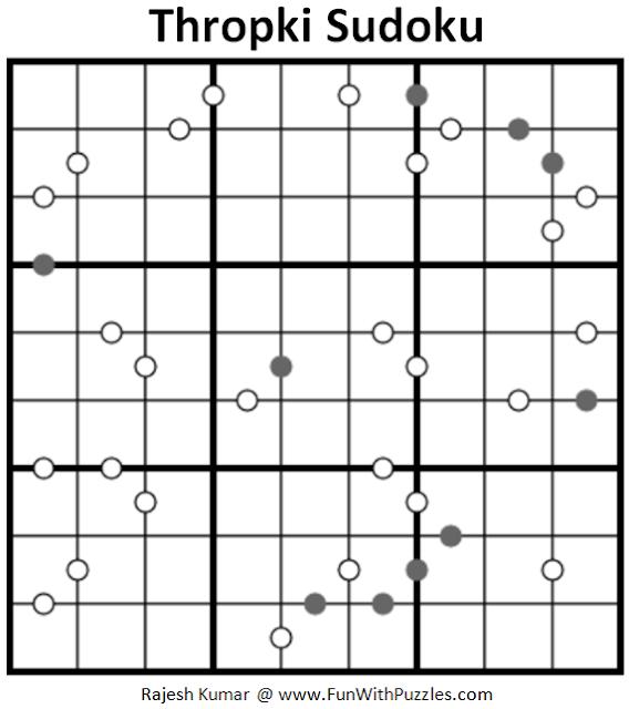 Thropki Sudoku (Fun With Sudoku #194)