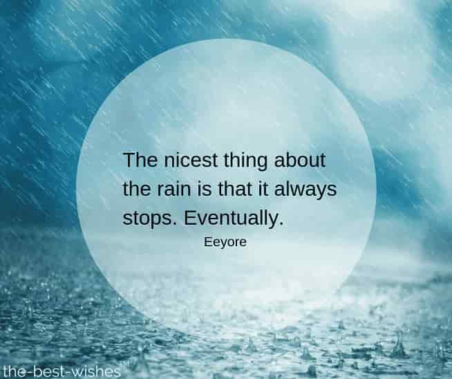 rainy day images with quotes by eeyore