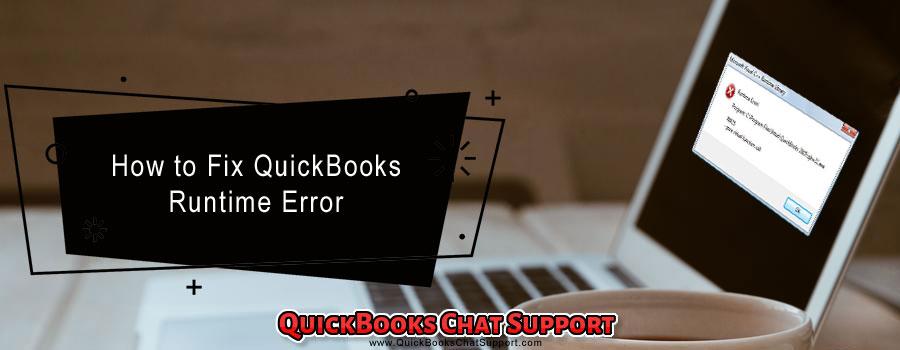 How to Fix QuickBooks Runtime Error