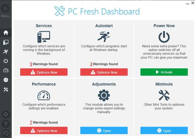 Abelssoft PC Fresh 2017 Versión 3.25.80 Full