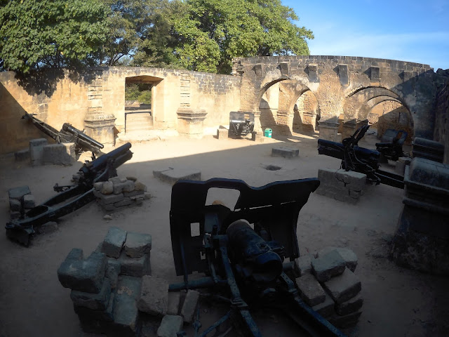 Diu fort's armory section