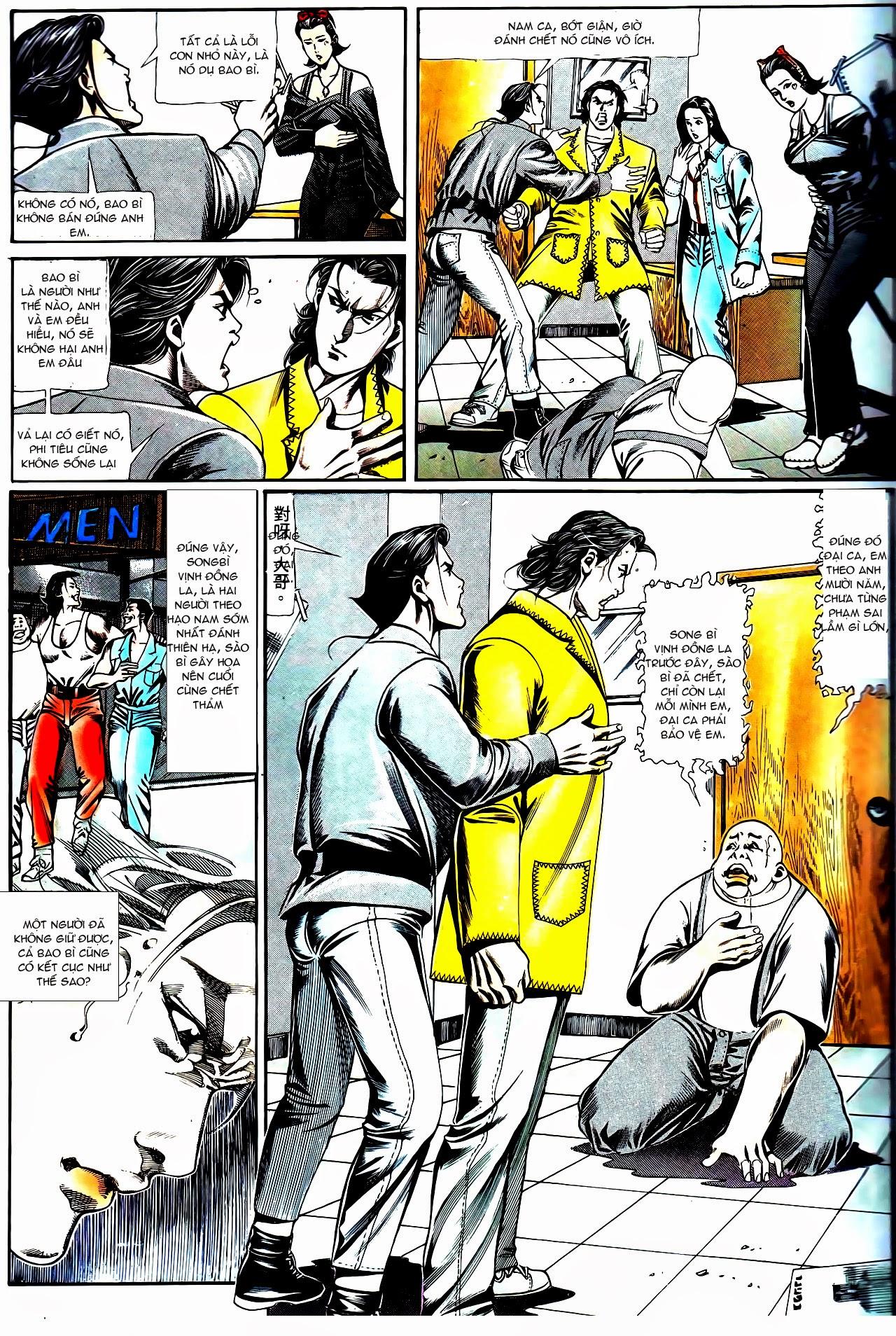 Người Trong Giang Hồ chapter 112: nhân sinh trang 8