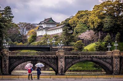 istana kaisar di Tokyo Imperial Palace
