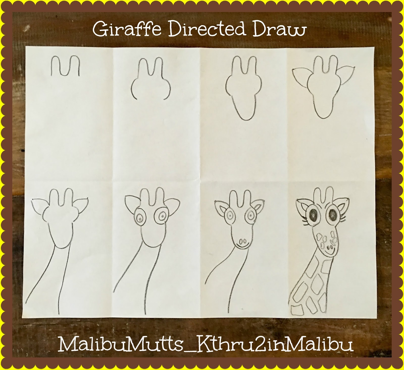 directed drawing christmas activities
