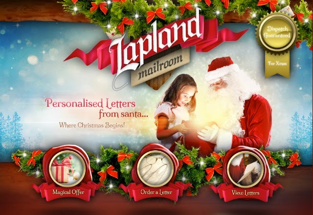 Lapland Mailroom website logo