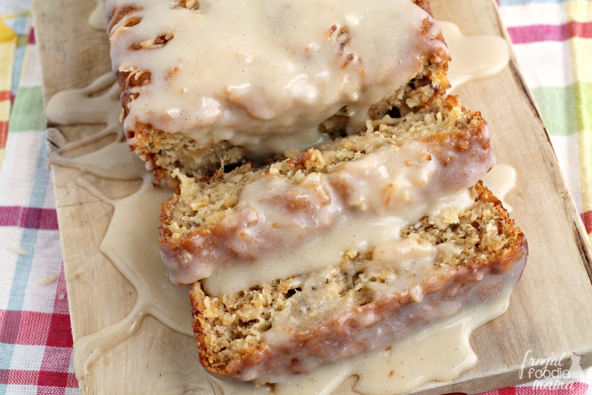 recipe: banana bread with rum glaze [2]