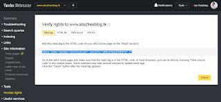 yandex site search