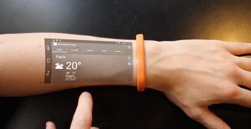Cicret Bracelet, Gelang Smartphone